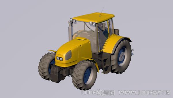 3D模型-拖拉机模型Tractor