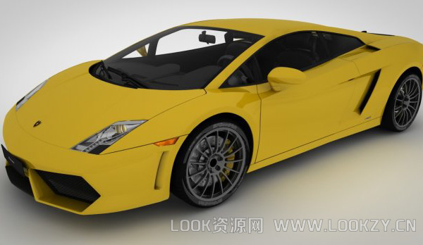 3D模型-兰博基尼Gallardo 3d模型下载 格式支持.c4d