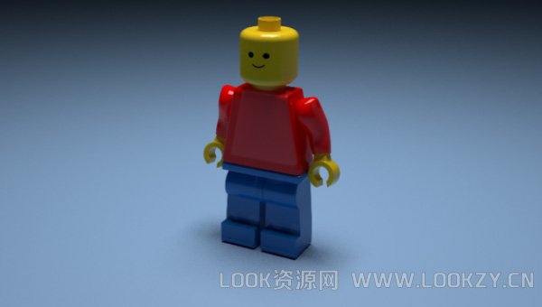 3D模型-乐高3D模型下载 格式支持.obj .max .c4d