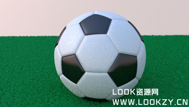 3D模型-足球模型 免费下载  格式支持.3ds .obj .dae .blend .fbx .mtl