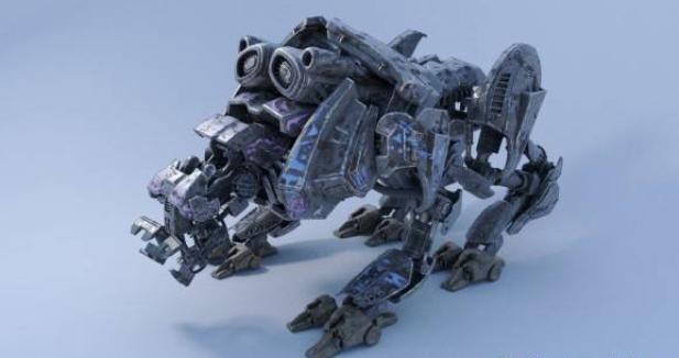 3D模型-高多模型机器人 免费下载 格式支持:.obj  .max