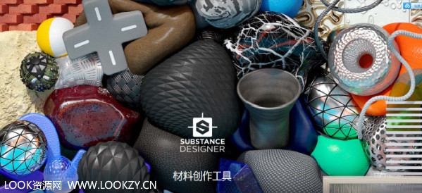 三维纹理材质制作软件Allegorithmic Substance Designer 6.0.3.181 Win版含中文安装说明