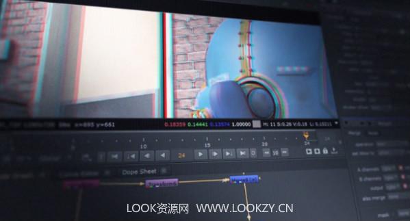 Nuke教程-立体合成和转换了解3D视频细节工作流程 免费下载