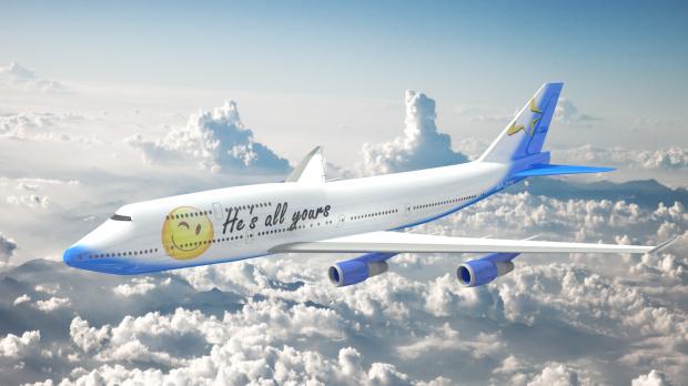 3D模型-波音747模型免费下载 格式支持:.3ds .obj .dae .stl