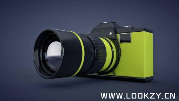 3D模型-Fliso Camera 相机 3D模型 免费下载 格式支持C4D