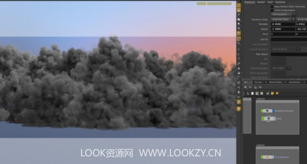 Houdini配合Nuke制作高级特效沙漠沙尘暴VFX教程 免费下载