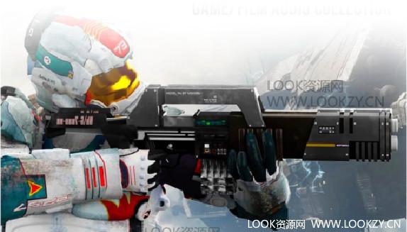 音频素材-未来激光科幻武器 游戏电影镭射能量开枪音效库合集