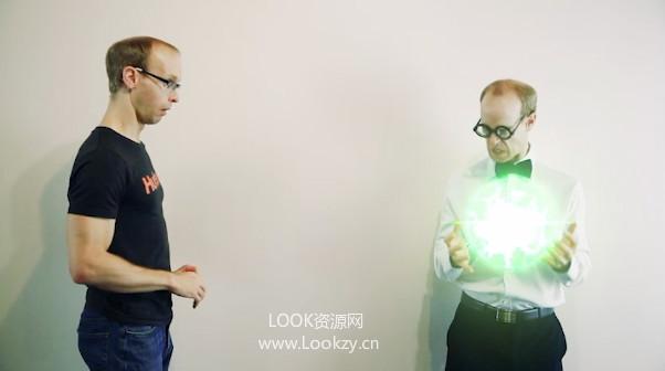 AE教程-科幻能量球动画特效制作教程Energy Ball VFX 下载