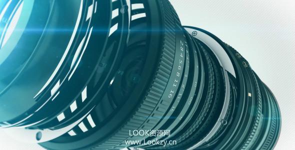 AE模板-三维相机LOGO片头展示模板Camera Logo