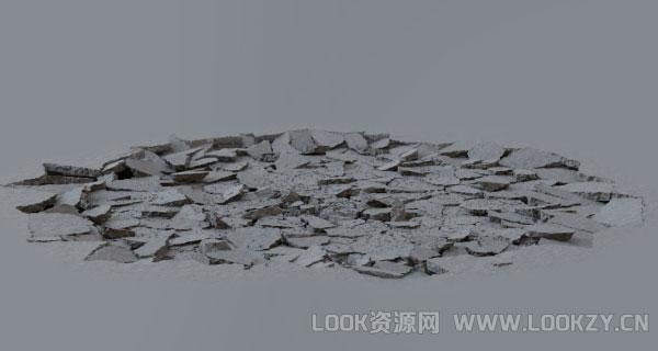视频素材-16组地面粉碎裂缝开裂2K高清后期特效视频素材下载