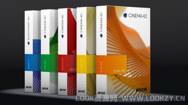 C4D R19三维包装软件正式完整版MAXON Cinema 4D R19 简体中/英文破解版