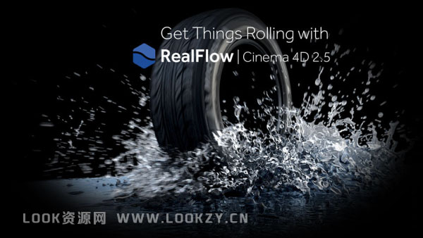 C4D插件-流体水模拟插件 NextLimit RealFlow C4D 2.5.3.0083 Win破解版