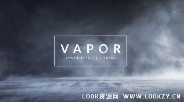 视频素材-140组4K大气烟雾环绕飘动特效合成视频素材含使用教程