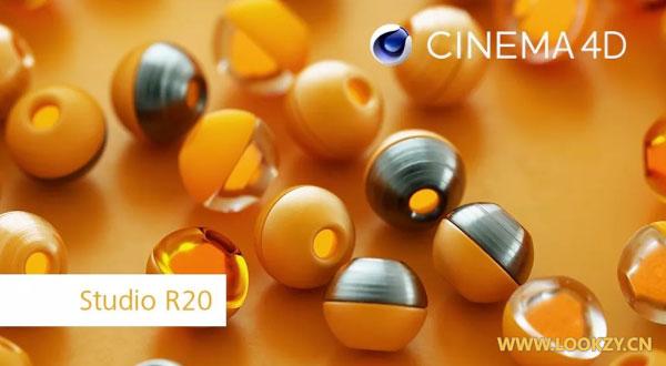 MAXON发布 Cinema 4D R20 新功能软件介绍 节点材质,体积建模,MoGraph工具集改进等