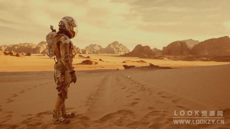C4D教程-使用Octane渲染器搭配World Creator创建三维科幻火星地形场景教程