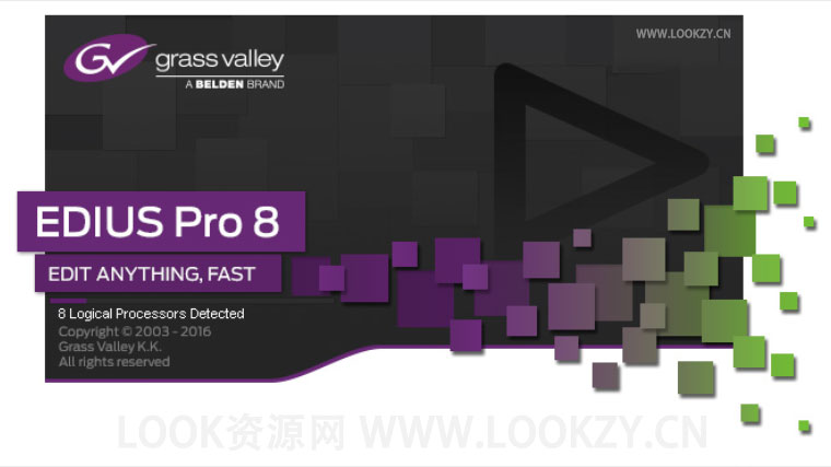 视频剪辑软件 Grass Valley EDIUS Pro 8.5.3.3573 Win破解版
