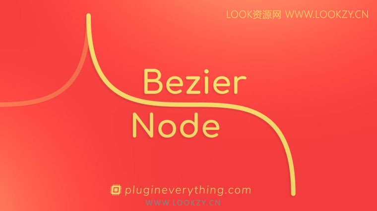 AE插件-贝塞尔曲线路径生成器 AEscripts Bezier Node v1.5内含使用教程