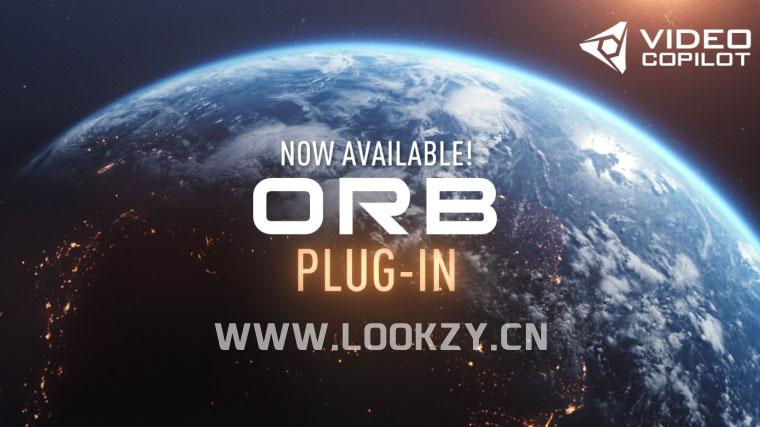 AE插件-AK最新三维星球特效插件VideoCopilot ORB Win/Mac内含使用教程/6K地图贴图