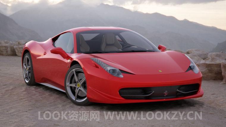 3D模型-10款HD高精度汽车模型Vol.5下载(Max/C4D/FBX/obj)