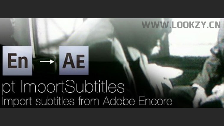SubRip/SRT字幕导入加载脚本AEscripts pt_ImportSubtitles V1.6.1(内含视频教程)