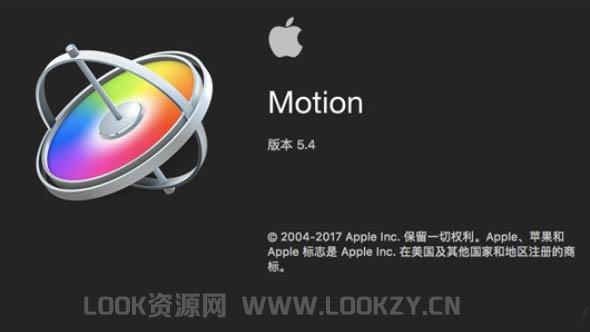 苹果视频制作编辑软件 Motion 5.4.2(英/中文版)破解版 免费下载