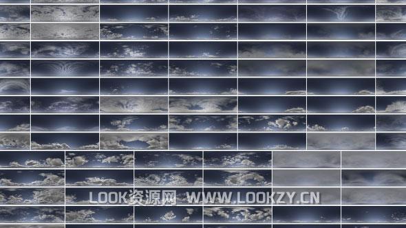 材质贴图-92组高动态天空贴图素材90+HDR Clouds With Masks