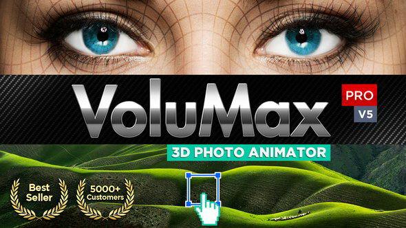AE模版-风景人像图片转3D空间摄像机动画 3D Photo Animator V5.2