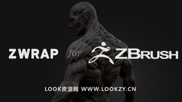 Zbrush 3D扫描变形插件R3DS ZWrap v1.0.3 Nodelocked iND WIN 破解版