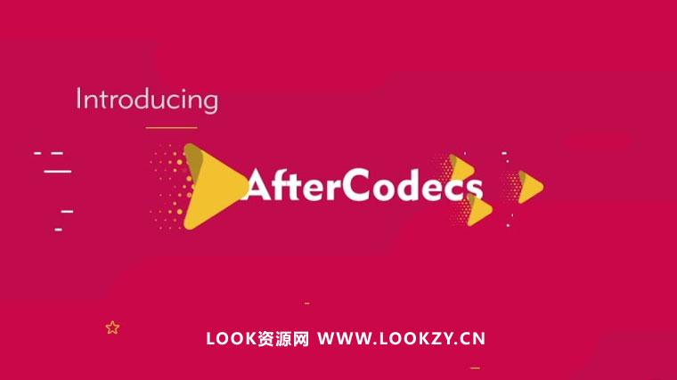 AE/PR/AME插件-特殊编码增强加速渲染输出插件 Aescripts AfterCodecs v1.5.1