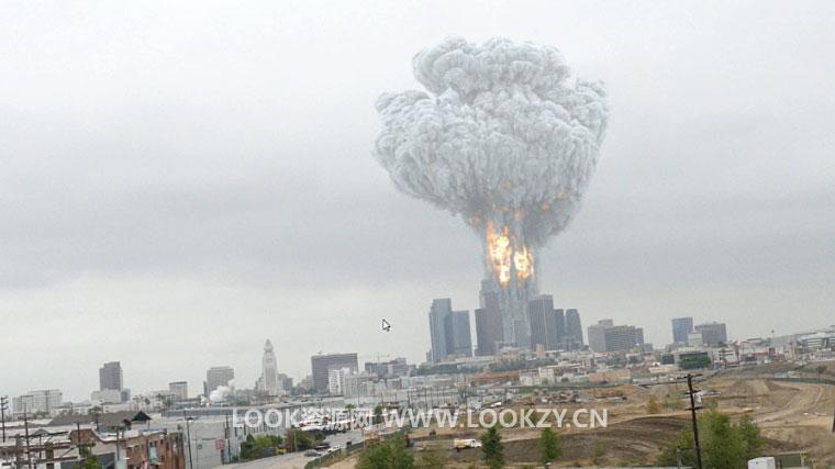 Nuke教程-Nuke合成核爆炸案例效果中文高清教程