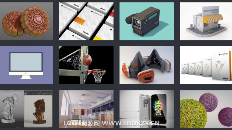 C4D教程-66套映速官方C4D中文教程免费大合集(2008-2016)