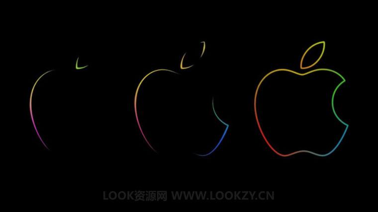 AE教程-苹果LOGO线条描边动画AE教程Apple Logo Animation using Trapcode 3D Stroke Tutorial