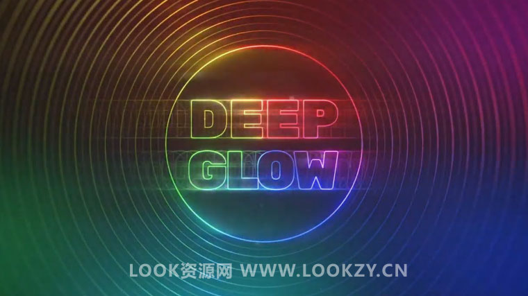 AE插件-漂亮高级辉光发光插件Aescripts Deep Glow v1.0 Win版