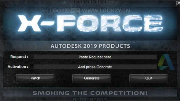 Autodesk 2019 全系列软件XForce注册机 Win/Mac软件密钥