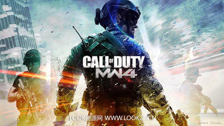C4D模型-163套《使命召唤4(Call of Duty 4: Modern Warfare)》C4D游戏角色模型合集