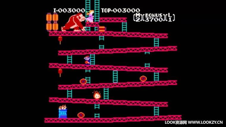 音频素材-8Bit复古游戏打击跳跃脚步动作爆炸UI无损音效素材 Retro Games