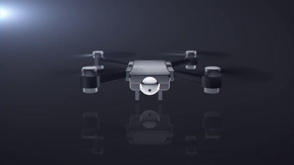 AE模板-无人机航拍LOGO片头标志展示AE模板 Drone Logo Reveal