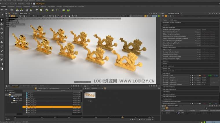 高端动画渲染软件 Clarisse IFX 4.0软件2D/3D动画制作软件