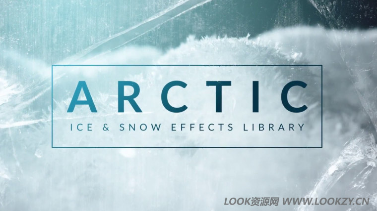 视频素材-79个冬天下雪冰冻结冰特效4K视频合成素材