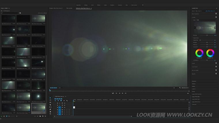 视频素材-260组镜头光斑梦幻电影光晕特效叠加4K视频素材