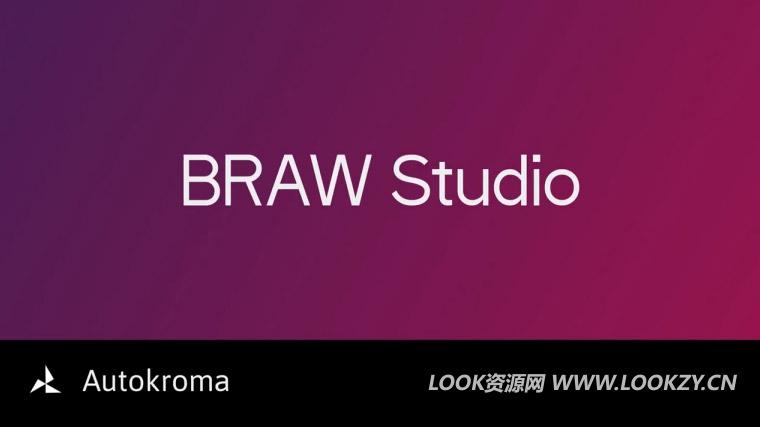 Blackmagic RAW素材导入PR插件 Aescripts BRAW Studio v1.3.1 Win破解版