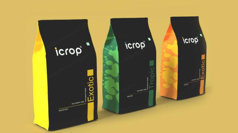 C4D模型-食品零食产品包装袋C4D模型 含材质贴图