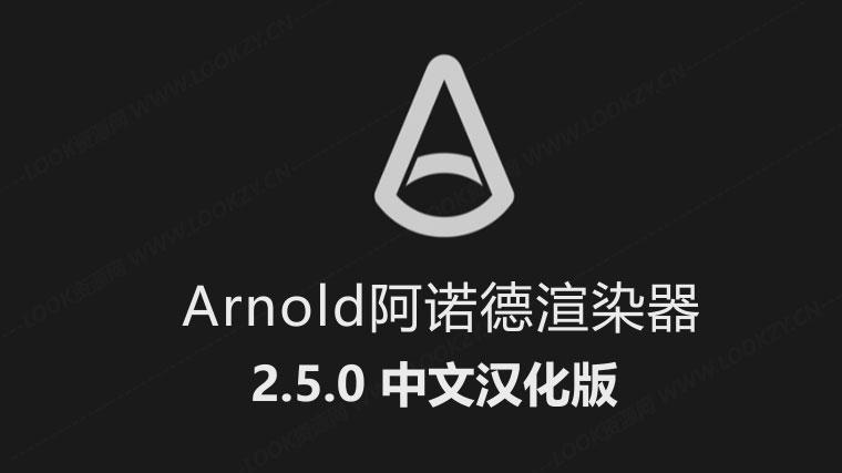 C4D插件-Arnold阿诺德渲染器 C4DtoA 2.5.0 for C4D WIN完整中文汉化版