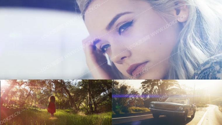 视频素材-324组科幻电影行动闪烁镜头光晕光斑效果视频素材