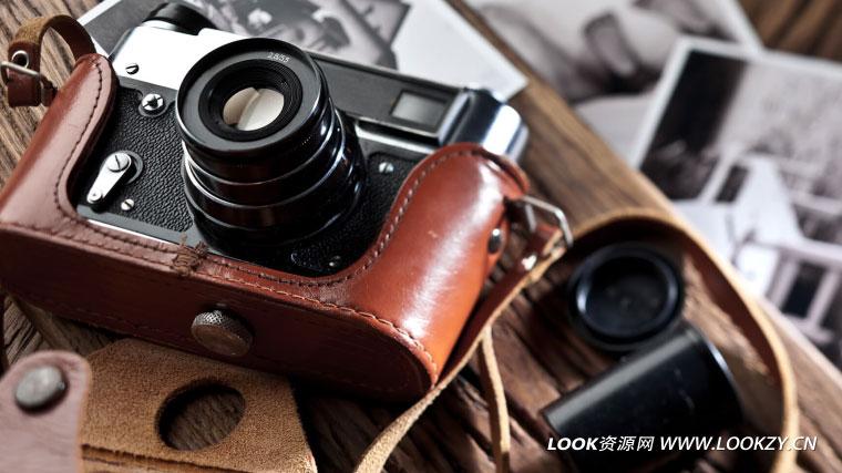音效素材-单反摄像机快门拍摄胶卷转动等无损音效库