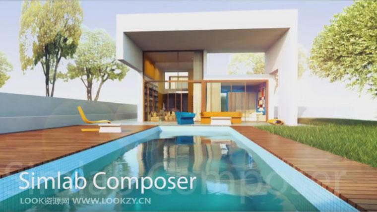 3D场景建模制作渲染软件 SimLab Composer v7.1.1 Win/Mac破解版