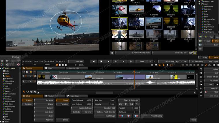 电影颜色分级调色视频软件 Digital Vision Nucoda V2019.1 R2 Win64