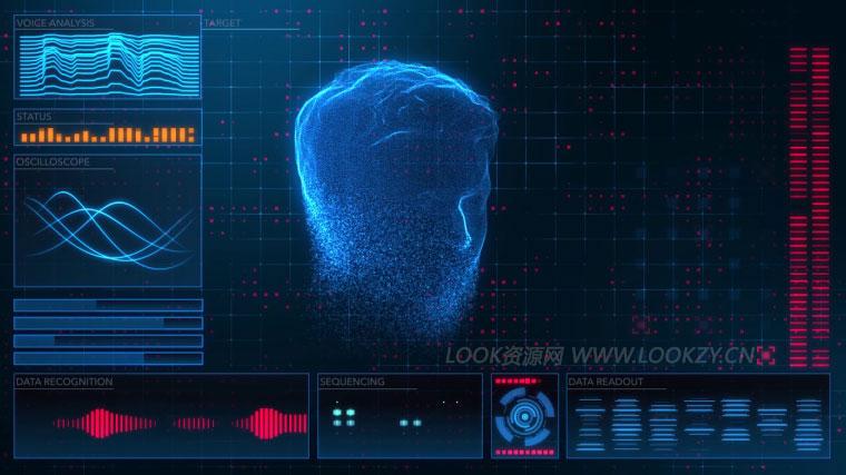 AE教程-使用Form插件制作HUD科技感UI界面元素动画教程