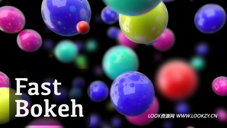AE插件-快速创建平滑景深散景模糊插件 Fast Bokeh 1.0.1 Win/Mac 免费下载