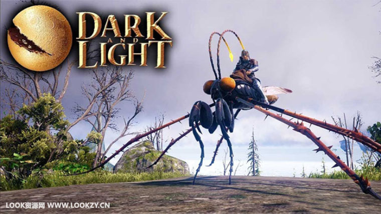 C4D模型-19套C4D幻影梦魇游戏《黑暗与光明(Dark and Light)》模型合集